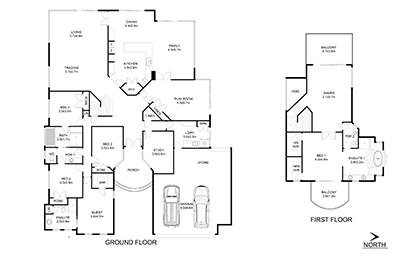 2D Floor Plan | 3D Floor Design